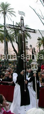 Cruz de Guía de la Soledad de San Lorenzo. Semana Santa de Sevilla