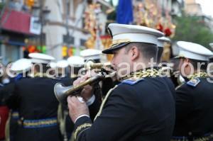 Banda de Cornetas y Tambores en la Semana Santa de Sevilla