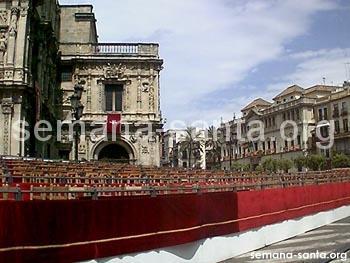 Palcos Semana Santa de Sevilla