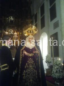 santa marta besamanos virgen 2012 6