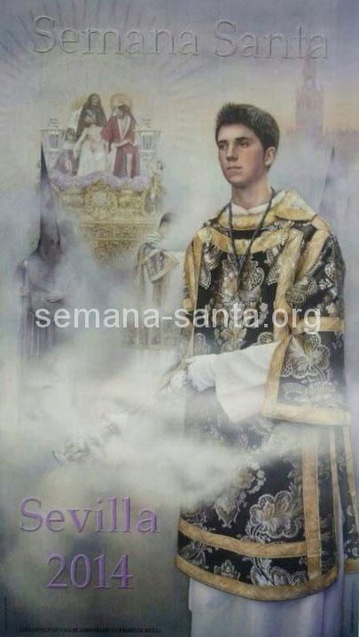 Affiche de la Semaine Sainte à Séville 2014