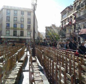 Consulta los precios de los abonos de sillas y palcos de la Carrera Oficial de la Semana Santa de Sevilla 2020