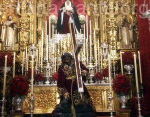 Besamanos Santísimo Cristo de las Tres Caidas. Esperanza de Triana.