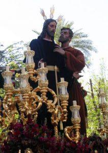 Solemne Quinario en honor aNuestro Padre Jesús de la Redención en el beso de Judas