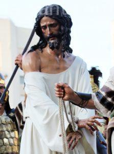 Besamanos al Señor de la Esperanza. Hermandad de la Milagrosa
