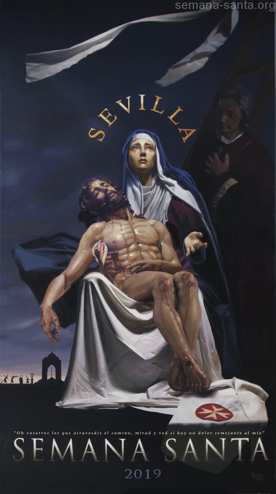 Cartel De La Semana Santa De Sevilla 2019 Semana Santa De Sevilla